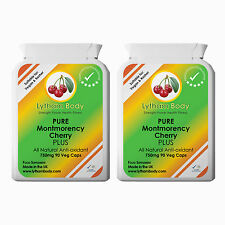Ejército Cereza puro 750 mg por cápsula x 180-activo Nutrition-Gota