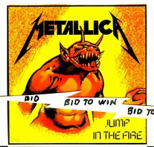 Metallica Jump In The Fire Full Color Sticker James Hetfield Very Cool