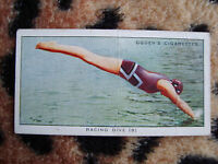 Cigarette Card : Ogdens : Swimming, Diving and Life-Saving (1931) : No. 40