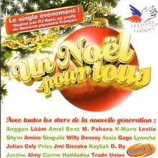 CD SINGLE ANGGUN - LESLIE - LAAM - AMEL BENT M. POKORA ASSIA.	Un Noël pour tous