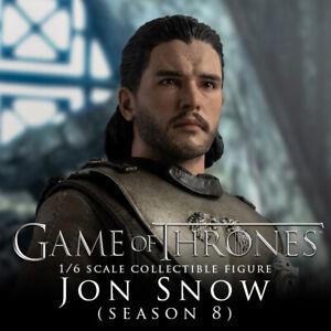 ThreeZero NEW * Jon Snow (Season 8) * Game of Thrones 1:6 Scale Action Figure