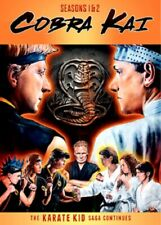 Cobra Kai Season 1 and 2 Series One Two (xolo Maridueña Ralph Macchio) DVD