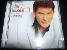 David Hasselhoff – Sings America (Shock Australia) CD – Like New