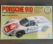 Porsche 910 1:12 Bausatz Tamiya 12041 mit Metallteilen