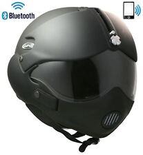Cara abierta casco de motocicleta Tornado auricular Bluetooth Teléfono Intercomunicador Radio XL