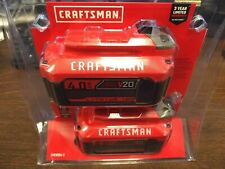 Craftsman CMCB204-2 20V 4.0AH Lithium Ion Battery - 2 Piece