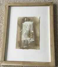 Scottish Artist Jenny Smith  Framed Mixed Media On Paper - Fragment