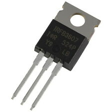2 IRFB3607 International Rectifier MOSFET Transistor 75V 80A 140W 0,009R 856278