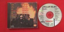 HITS AND DANCE TANDY VOLUME 1 1989 ÉTAT CD