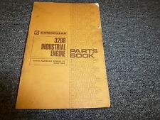 Caterpillar Cat 3208 Industrial Engine Parts Catalog Manual S/N 90N6121-90N37284