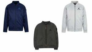 New Nike Jordan Little Boys Zip Up Long Sleeves Bomber Jacket MSRP $90