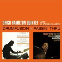 Chico Hamilton - Drumfusion / Passin Thru [New CD]