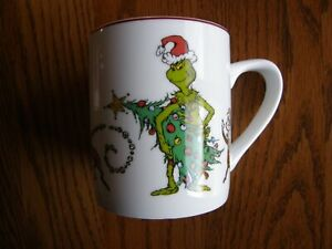 Williams Sonoma Grinch Coffee/ Tea/ Hot Chocolate Mug / Cup - Christmas - New