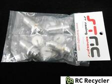 STRC Tamiya CR01 Alu Threaded Shock Conversion Kit Retainers STT50950BK Crawler