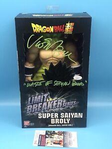 Vic Mignogna Signed Dragon Ball Super Limit Breaker Broly Action Figure JSA COA