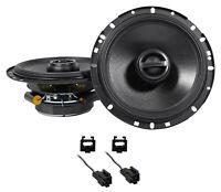 """Alpine S 6.5"""" Front Factory Speaker Replacement Kit For 2001 Chrysler Sebring"""