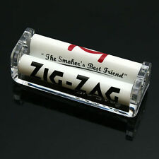 70mm Easy Handroll Cigarette Tobacco Rolling Machine Tool Roller Maker Plastic