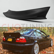 BMW E46 SEDAN ROCKET BUNNY DUCKTAIL WING (4door rear trunk bootlip lip/spoiler)