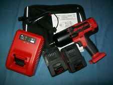 """NEW Snap-on™ Lithium Ion CT8850 18V 18 Volt cordless 1/2"""" impact Wrench / Gun"""