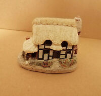 E* Lilliput Lane Cottages The Farriers Cottage building handmade sculpture house