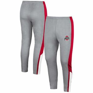 Ohio State Buckeyes Colosseum Up Top Pants - Gray