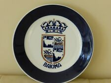 Sargadelos Pottery Decorative Plate - Baiona