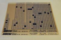 Microfiche Spare Parts Catalog Fiat Un R /89 (900 - 1000 - 1100 Cc Stand 06/95