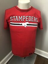Calgary Stampeders Shirt CFL Vintage Medium Football Shirt 70's 80's Black Red