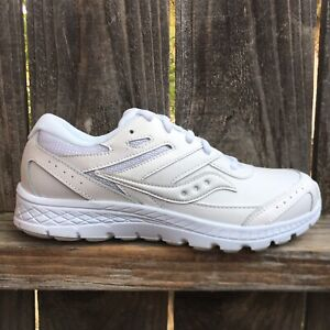 Saucony Boys Tennis Shoes Sneakers White