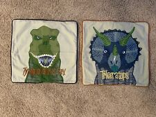 Pottery Barn Kids Dinosaur Throw Pillow Covers