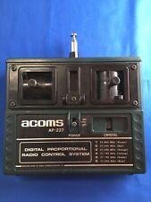Acoms Vintage Ap227 Mk1 Transmitter Rc Car Radio Hear 1970s Working Great Old