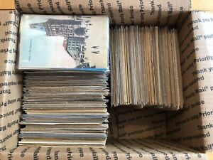 Large Lot of 1000+ Early & Mid-1900's International Postcards, includes RPPCs