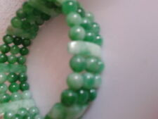 Bracelet en jade, 3 rangs