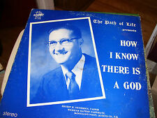 THE PATH OF LIFE PRESENTS HOW I KNOW THERE IS A GOD-BAPTIST-ST.JOHN,N.B.CAN-LPVG