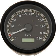 "Drag Specialties 3-3/8"" 220khm Electronic Speedometer 1999-2003 Harley FXD XL"