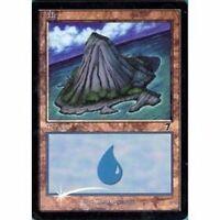 Lot de 10 îles PREMIUM / FOIL - Islands - Island - Terrain Lands  Magic Mtg -