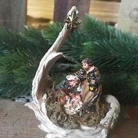 Engelsflügel Krippenset Figur S Krippe Weihnachtskrippe Krippenszene Maria Josef