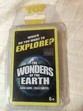 Top Trumps Cards w/Plastic Case The Wonders Of Earth New