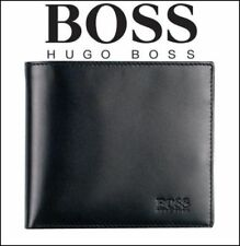 Hugo Boss AREZZO-50128297 Men's Tri-Fold Coin Pocket Wallet, 100% Authentic