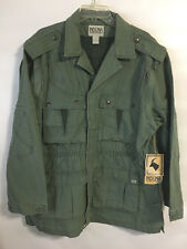 Induna Africa Convertible Safari Jacket Vest Mens NWT size LARGE Green