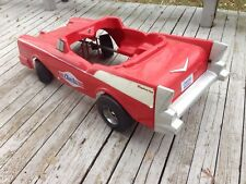 VINTAGE CHEETOS BRAND AUTHENTIC KINGSBURY TOYS KIDS BABY SIZE RED RACE CAR