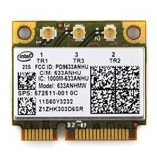 HP intel Ultimate-N 6300 Dual Band 450Mb a/g/n 633ANHMW sps:572511-001 half Card