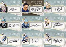 54ct 2010-11 ITG Between The Pipes Hockey Goaliegraph Autograph Card Lot