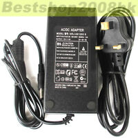 1pcs 12V 5A Power Adapter 12 Volt 5 Amp TFT LCD Monitor Supply LCD Adaptor UK