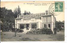 CP 62 - PAS-DE-CALAIS - Mazingarbe - Château de M. Wattebled