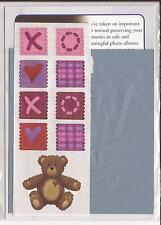 CREATIVE MEMORIES BEAR LOVE TTY Kit Scrapbooking Craft ROCKING CHAIR BABY HEART