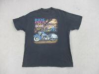 VINTAGE Harley Davidson Shirt Adult Extra Large Black New Mexico Biker Mens *