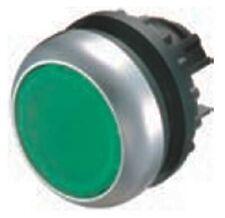 Moeller FLUSH ILLUMINATED PUSHBUTTON Round Lens, Momentary, Green