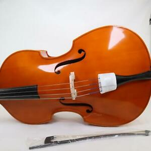 William Lewis & Son 'Exeter' 1/2 Size Upright Bass Outfit BRAND NEW
