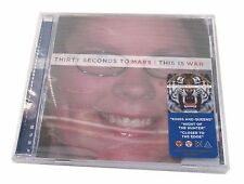 30 Thirty Seconds to Mars This Is War Fan Cover CD Compact Disc Sealed NOS
